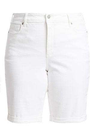 NYDJ, Plus Size Women's Briella Roll Cuff Denim Shorts - - Size 28 W