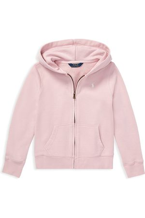 Ralph Lauren Little Girl's French Terry Hoodie - - Size 4