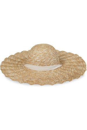 Lack of Color Women's Scalloped Dolce Wide-Brim Hat - - Size S