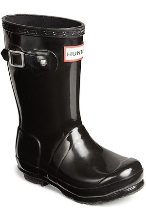 Hunter Girl's High Gloss Original Tall Rain Boots - - Size 2 Boy / 3 Girl (Child)