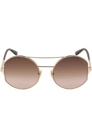 Tom Ford Women's Dolly 60MM Aviator Sunglasses