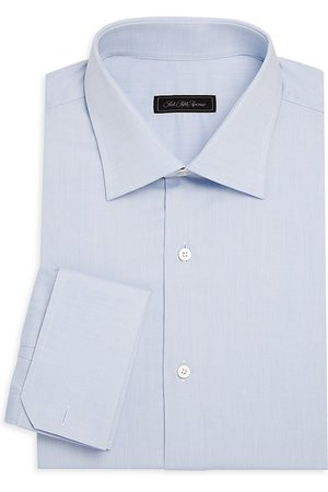 Saks Fifth Avenue Men's COLLECTION Travel French-Cuff Dress Shirt - - Size 14.5
