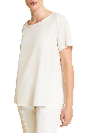 Persona by Marina Rinaldi Women's Crepe Polished Shell Top - - Size 16 W