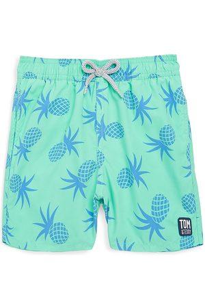 Tom & Teddy Baby Boy's, Little Boy's & Boy's Pineapple Swimming Trunks - - Size 5-6