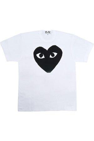 Comme des Garçons Women's Giant Heart T-Shirt - - Size XS