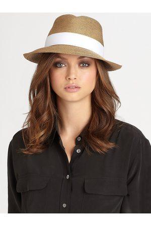 Eric Javits Women Hats - Women's Classic Fedora Hat - Peanut