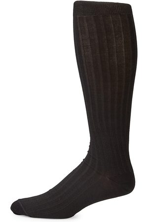 Saks Fifth Avenue Men's COLLECTION Rib-Knit Knee-High Socks