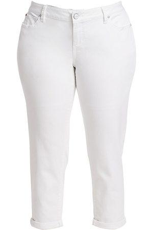 Slink Jeans Plus Women's Mid-Rise Boyfriend Jeans - - Size 18 W