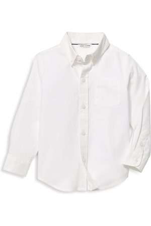 Janie and Jack Baby's, Little Boy's & Boy's Cotton Oxford Shirt - - Size 12