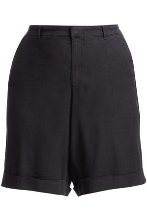 NYDJ, Plus Size Women's Rolled Cuff Bermuda Shorts - - Size 28 W