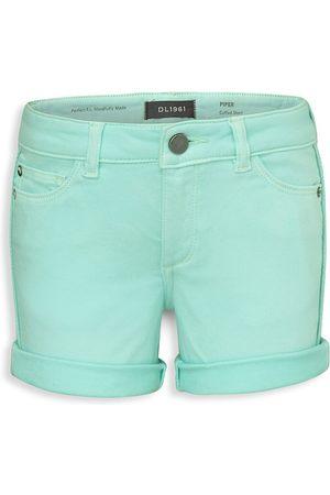 DL1961 DL1961 Premium Denim Little Girl's Piper Cuffed Denim Shorts - - Size 5