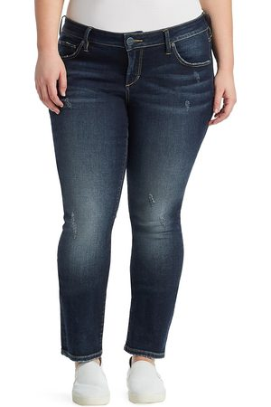 Slink Jeans Plus Women's Faded Stretch Jeans - - Size 24 W