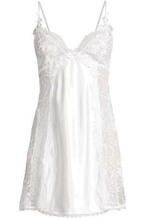 Jonquil Women's Collette Lace Chemise - - Size Small
