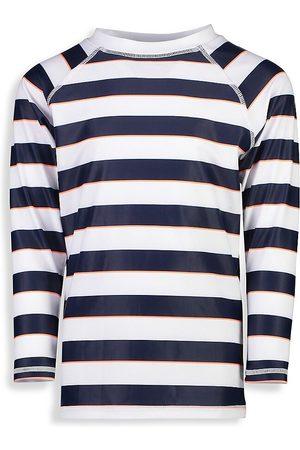 Snapper Rock Little Boy's & Boy's Rugby Stripe Long-Sleeve Rashguard - - Size 16
