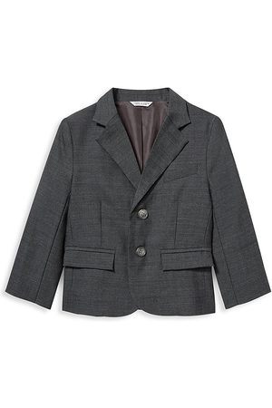 Janie and Jack Baby's, Little Boy's & Boy's Wool Herringbone Blazer Jacket - - Size 8