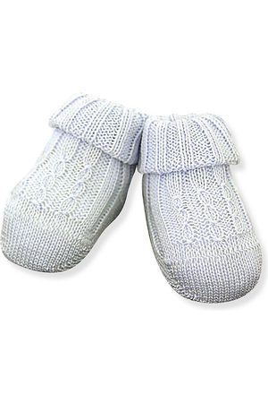 Ralph Lauren Baby's Cable-Knit Booties - - Size 0-3 Months