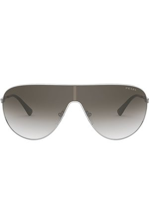 Prada Women's 42MM Mirrored Aviator Sunglasses