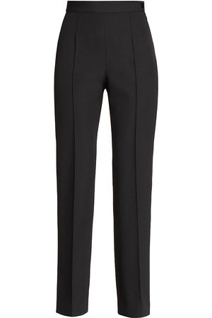 Balenciaga Women's Minimal Wool Pants - - Size 34 (0)