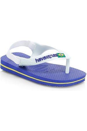 Havaianas Baby's Brazil Logo Flip Flops - - Size 23-24 EU (9 Toddler US)