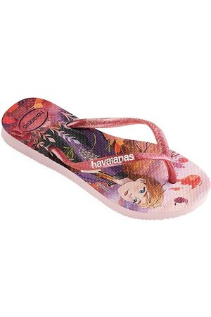 Havaianas Little Girl's & Girl's Frozen 2 Flip Flops - - Size 33-34 EU (3-4 Child US)