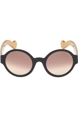 Moncler Women's 51MM Round Sunglasses