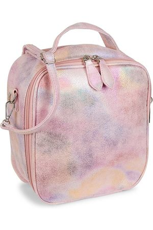 Bari Lynn Tie-Dye Metallic Lunch Box