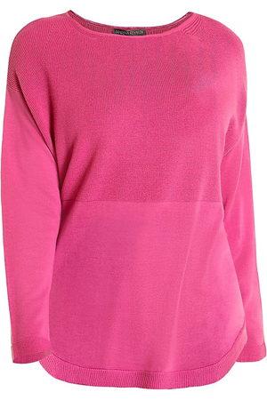 Persona by Marina Rinaldi Women's Dropped Shoulder Wool Sweater - - Size Medium (12-14)