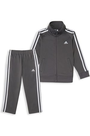 adidas Baby Boy's 2-Piece Signature Tracksuit - - Size 18 Months
