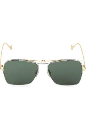 Loewe Women's 56MM Square Aviator Sunglasses