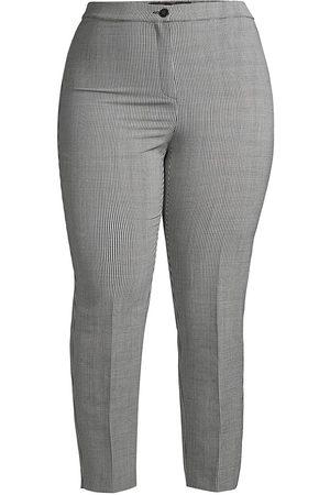 Persona by Marina Rinaldi Women's Regalo Wool Straight Pants - - Size 20 W