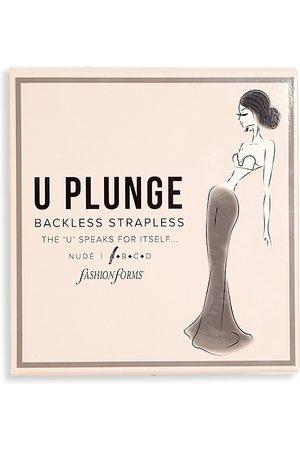 Fashion Forms Women's U-Plunge Backless Strapless Bra - - Size A
