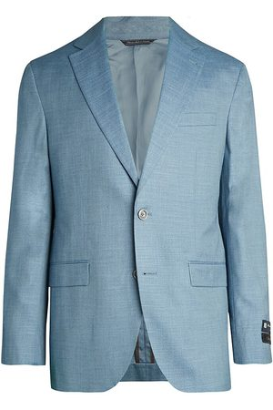 Saks Fifth Avenue Men's COLLECTION Textured Solid Sportcoat - - Size 48 R