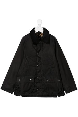 Barbour Kids Boys Outdoor Jackets - Classic Bedale wax jacket