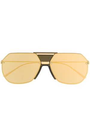 Bottega Veneta Men Aviators - Aviator-frame sunglasses