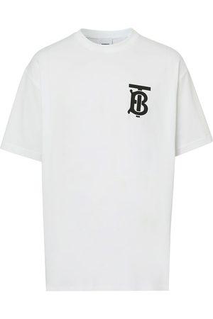 Burberry Monogram-motif oversized T-shirt