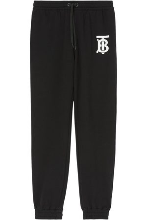 Burberry Monogram logo cotton track trousers