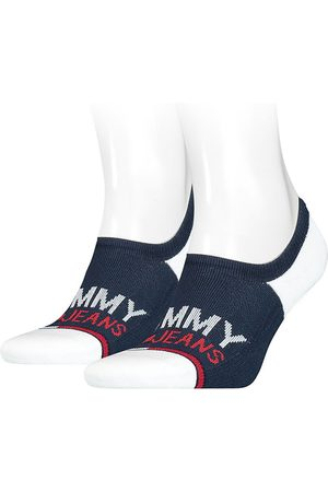 Tommy Hilfiger No Show High Cut Footie 2 Pack