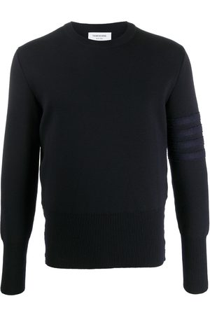 Thom Browne 4-Bar crew-neck jumper