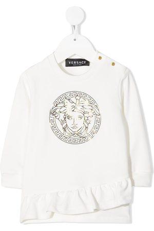 VERSACE Logo print blouse