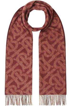 Burberry Scarves - Monogram check reversible scarf