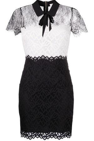 Sandro Rozen semi-sheer lace dress