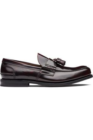 Church's Tiverton R Burgundy Bookbinder Fume' loafers