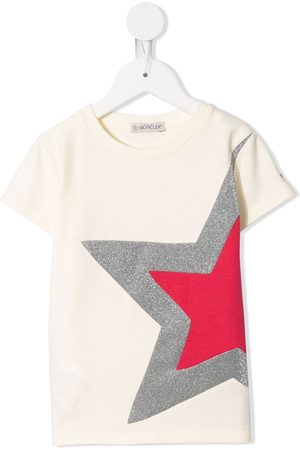 Moncler Girls T-shirts - Start stretch jersey T-shirt