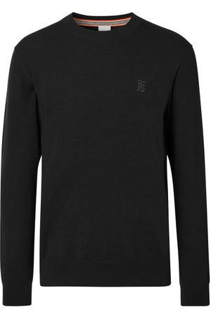 Burberry Embroidered monogram jumper
