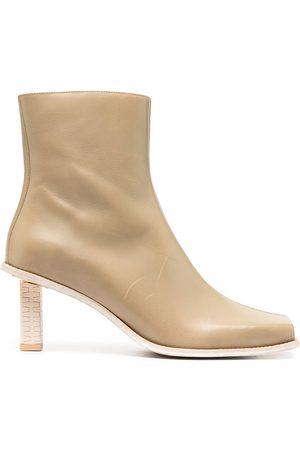 Jacquemus Carro Basses ankle boots - Neutrals