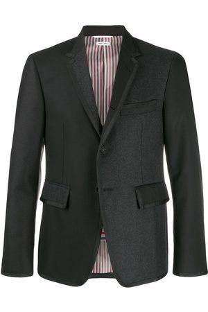 Thom Browne Contrast blazer - Grey