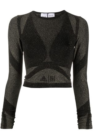 Wolford X adidas Studio Motion crop top