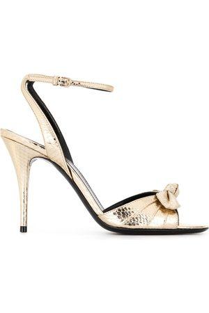 Saint Laurent Bow-detail sandals