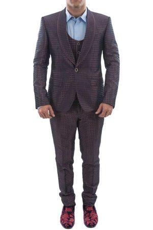 Dolce & Gabbana Suits - 1 Button 50 Dark Red