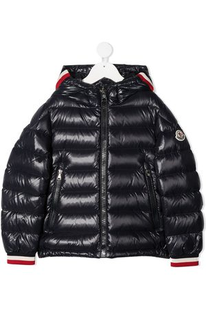 Moncler Contrasting cuff puffer jacket